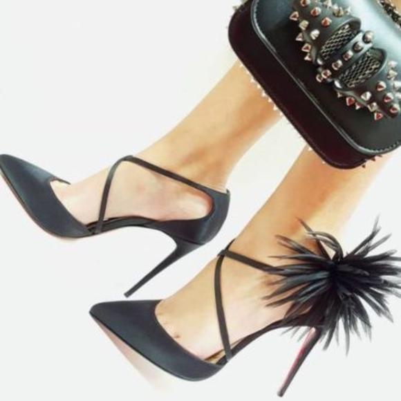 Christian Louboutin Gela Davis 100 Satin Shoes 3ff6ad2f1